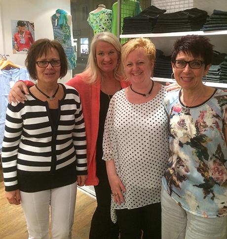 Anette, Susanna, Kajsa, Carina
